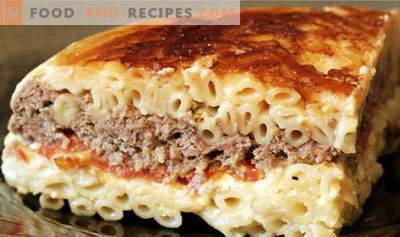 Pasta Auflauf - die besten Rezepte. Wie man richtig und lecker Nudelauflauf kocht.
