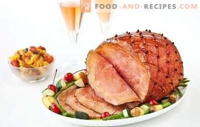Geräuchertes Schweinefleisch ist eine sehr beliebte Delikatesse. Zubereitungsmethoden für geräuchertes Schweinefleisch und die besten Rezepte mit seiner Teilnahme