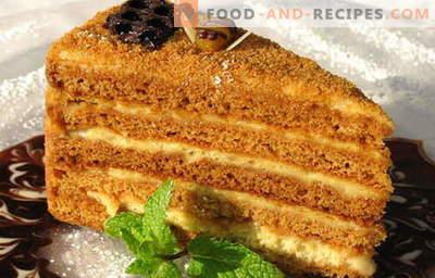Honigkuchen - die besten Rezepte. Wie man richtig und köstlich einen Honigkuchen kocht.