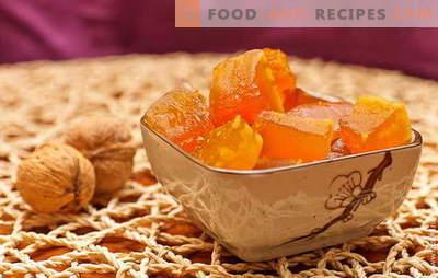 Kandierter Kürbis zu Hause - Gäste verwöhnen! Rezepte von bekannten und Autoren von kandiertem Kürbis zu Hause