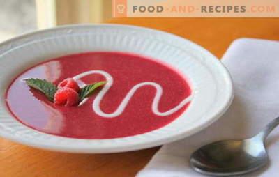 Fruchtsuppe - Frühstück, Nachmittagstee oder Dessert? Die besten Rezepte für tolle Fruchtsuppen: heiß und kalt