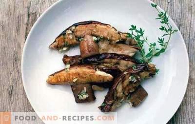 Wie viel Pilze kochen und wie man es richtig macht? Wie man getrocknete und gefrorene Pilze kocht?
