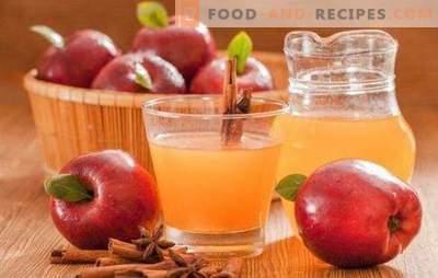 Apfelsaft für den Winter zu Hause: Verwechseln Sie die Technik nicht! Klassische und miksovye-Varianten dieses Apfelsaftes für den Winter