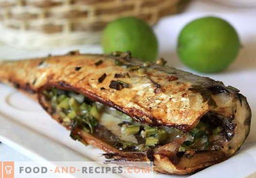 Makrele im Ofen - die besten Rezepte. Wie man Makrelen in Folie im Ofen zubereitet.