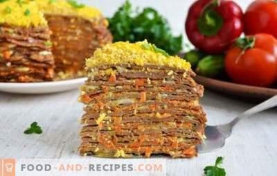 Leberkuchen mit Karotten und Zwiebeln - ein hervorragender Aperitif! Die besten Rezepte, Tipps und Geheimnisse des Kochkuchens aus der Leber mit Karotten und Zwiebeln