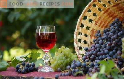 Wein zu Hause ist ein einfaches Rezept für ein reichhaltiges Getränk. Herstellung von hausgemachtem Wein: einfache Rezepte für Anfänger