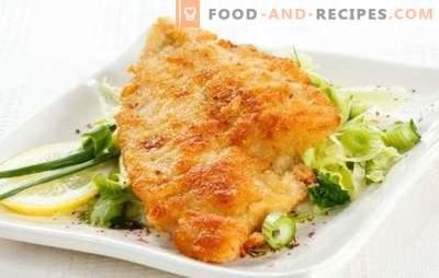 Tilapia in Teig ist ein zarter Fisch in einer knusprigen Kruste. Eine Auswahl der besten Rezepte Tilapia im Teig: Bier, Käse, Ei