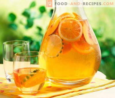 Kompott aus Orangen - die besten Rezepte. Wie man richtig und schmackhaft Orangenkompott macht.