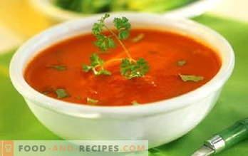 Suppen. Suppenrezepte: Suppe, Borschtsch, Käsesuppe, Zwiebelsuppe, Kürbissuppe, Kharchosuppe, Pilzsuppe ...