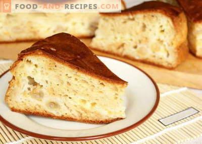 Pie auf Kefir - die besten Rezepte. Wie man richtig und köstlich einen Kuchen auf Kefir kocht.