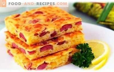 Aufläufe mit Wurst und Käse - jeder wird satt! Einfache Rezepte verschiedener Aufläufe mit Wurst und Käse