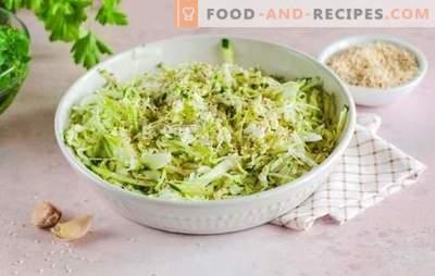 Welche Gewürze werden für Kohlgerichte benötigt: köstlicher Eintopf, Kochen, sauer