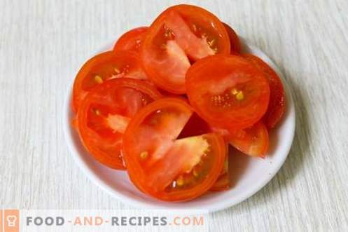 Auberginen-Snack-Fan - appetitlich, befriedigend und saftig!