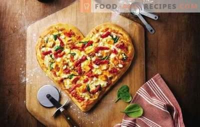 Mayonnaise Pizza ist ein beliebtes Gericht ohne Stress. Eine Auswahl an Rezepten für Pizzateig in Mayonnaise
