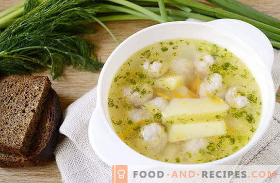 Köstliche Fleischbällchen-Kartoffelsuppe