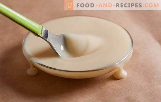 Wie man Kondensmilch in 15 Minuten zu Hause kocht. Rezepte für hausgemachte Kondensmilch: In einem Multikocher, Mikrowelle, auf Gas
