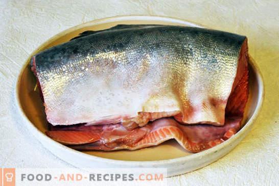 Rosa Lachs mit Möhren und Zwiebeln - es ist einfach! Schritt-für-Schritt-Foto-Rezept, Anleitung zum Kochen von rosa Lachs mit Möhren und Zwiebeln