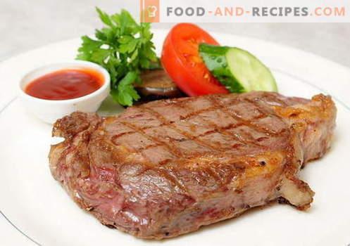 Gebratenes Schweinefleisch in der Pfanne - die besten Rezepte. Wie man gebratenes Schweinefleisch richtig und lecker kocht.