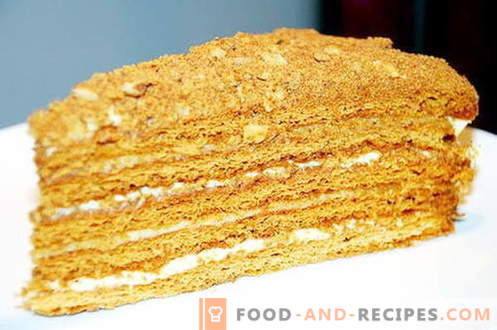 Ryzhik-Kuchen - die besten Rezepte. Wie man richtig und lecker Gourmetkuchen kocht.