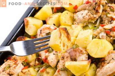 Kartoffeln mit Fleisch - die besten Rezepte. Wie man richtig und lecker Kartoffeln mit Fleisch kocht.