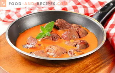 Liver sauce - suitable for any side dishes! The best recipes of gravy from a different liver: beef, chicken, pork