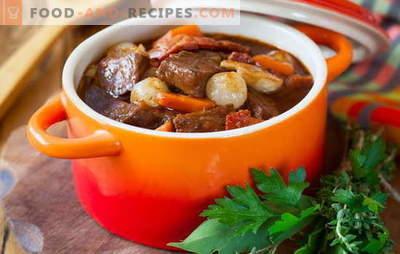 Schweinefleischeintopf - wir kochen gerne! Verschiedene Rezepte vom Schweinefleischeintopf mit Gemüse, Buchweizen, Reis, grünen Bohnen