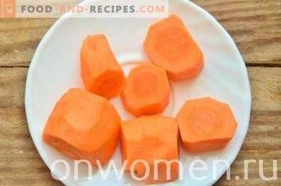 Quark-Smoothies mit Möhren und Honig