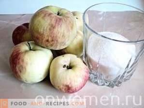 Apfelmarmelade für den Winter