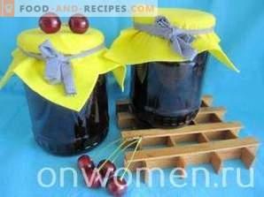 Kirschenmarmelade für den Winter