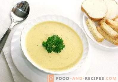 Kartoffelpüreesuppe