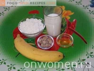 Quark-Smoothie mit Banane und Honig