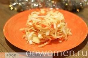 Sauerkraut mit Essig