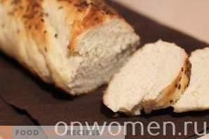 Brot mit Leinsamen