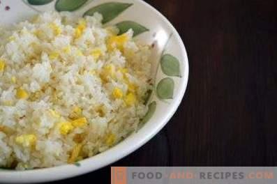 Füllung für Kuchen mit Ei und Reis