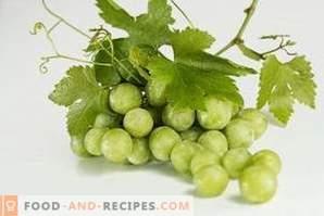 Wie werden Trauben gelagert?