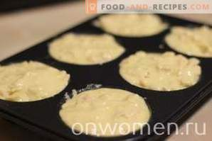 Hühnchen-Muffins mit Käse