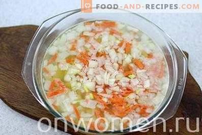 Fischsuppe in Dosen