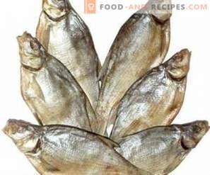 Lagerung von getrocknetem Fisch