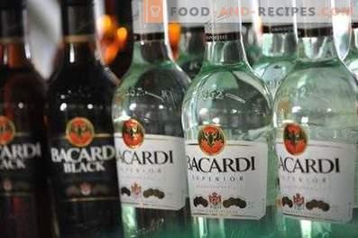 Wie man Bacardi-Rum trinkt