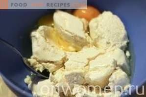 Muffins mit Hüttenkäse