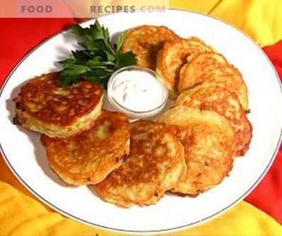 Kartoffelpuffer mit Käse