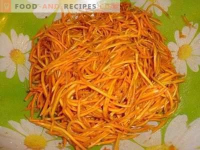 Моркови от корейски стил с подправки