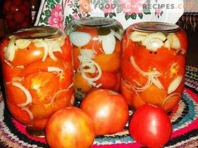 Tschechische Tomaten für den Winter