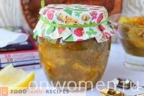 Zucchini-Marmelade mit Orange und Zitrone