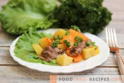 Lammeintopf mit Gemüse