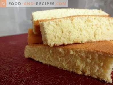 Orangenschwammkuchen