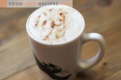 Cappuccino ohne Kaffeemaschine zu Hause