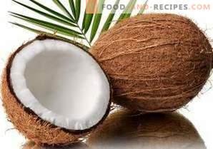 Lagerung von Kokosnussöl