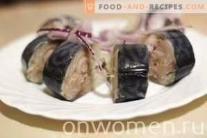 Spicy salted mackerel
