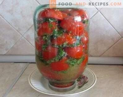 Tomaten auf Koreanisch für den Winter